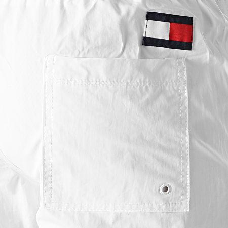 Tommy Hilfiger - Short De Bain Medium Drawstring 2048 Blanc