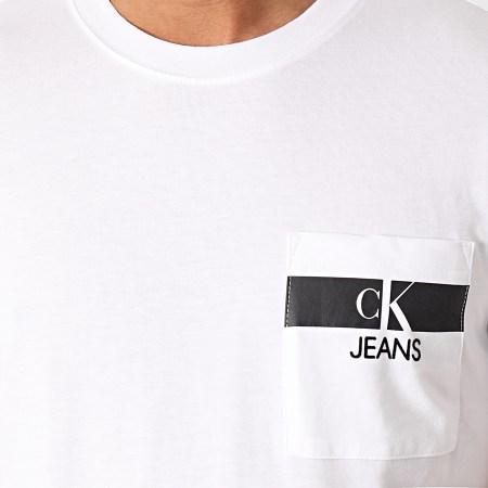 Calvin Klein - Tee Shirt 7671 Blanc