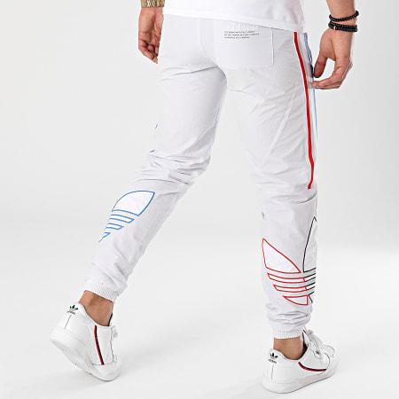 adidas - Pantalon Jogging A Bandes Tricolore GN3573 Gris Clair