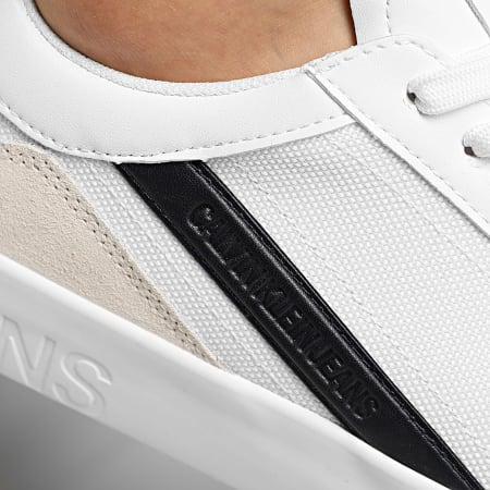 Calvin Klein - Baskets Vulcanized Sneaker Lace Up 0067 Bright White