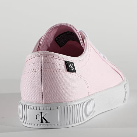 Calvin Klein - Baskets Femme Vulcanized 0123 Pearly Pink