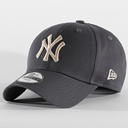 New Era - Casquette Enfant 9Forty League Essential 60112560 New York Yankees Gris