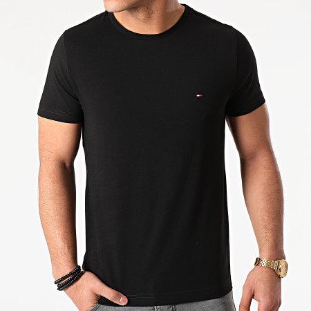 Tommy Hilfiger - Tee Shirt Back Logo 7681 Noir
