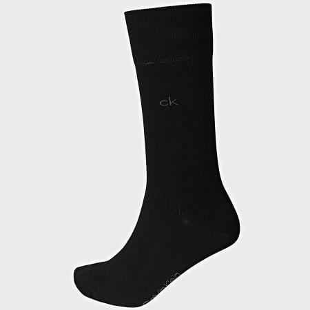 Calvin Klein - Lot De 2 Paires De Chaussettes 100001876 Noir