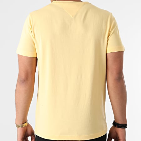 Tommy Hilfiger - Tee Shirt Tommy Logo 1797 Jaune