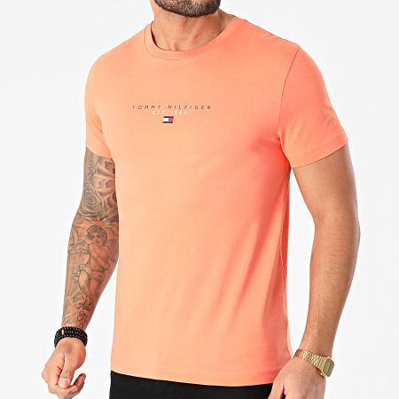 Tommy Hilfiger - Tee Shirt Essential Tommy 7676 Orange