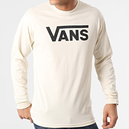 Vans - Tee Shirt Manches Longues Classic 00K6H Beige
