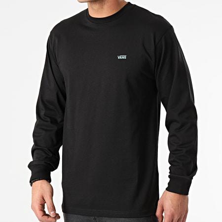 Vans - Tee Shirt Manches Longues Left Chest Hit A49LC Noir