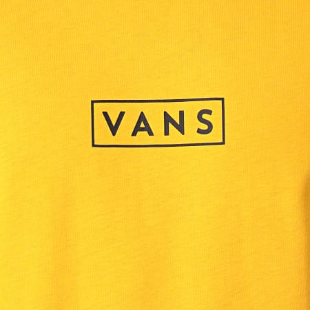 Vans - Tee Shirt Classic Easy Box A5E81 Jaune