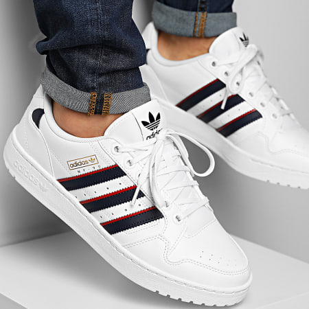 adidas - Baskets NY 90 S29248 Footwear White Collegial Navy Scarlet