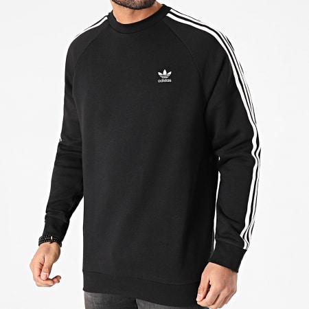 adidas - Sweat Crewneck A Bandes 3 Stripes GN3487 Noir