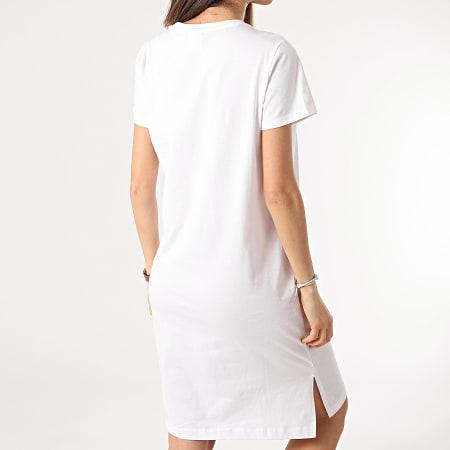 Champion - Tee Shirt Robe Femme 112609 Blanc