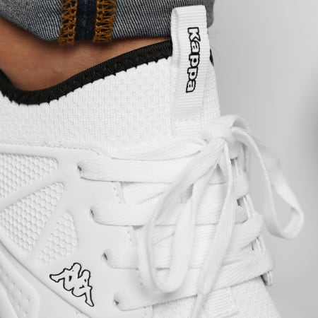 Kappa - Baskets Logo Sandiego 3117LEW White Black