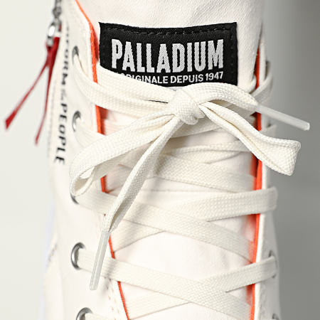 Palladium - Boots Pampa Hi Outzip Uniform Of The People 77023 Star White