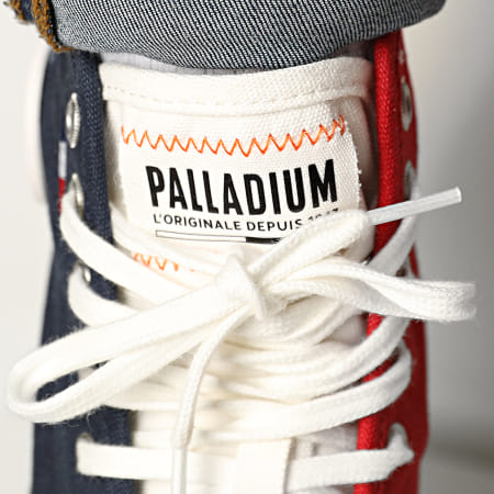 Palladium - Boots Palla Ace Canvas Mid 77015 Mood Indigo Chili Pepper