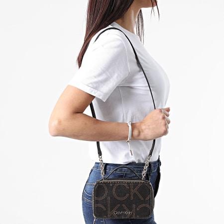 Calvin Klein - Sac A Main Femme Camera Bag 7518 Marron
