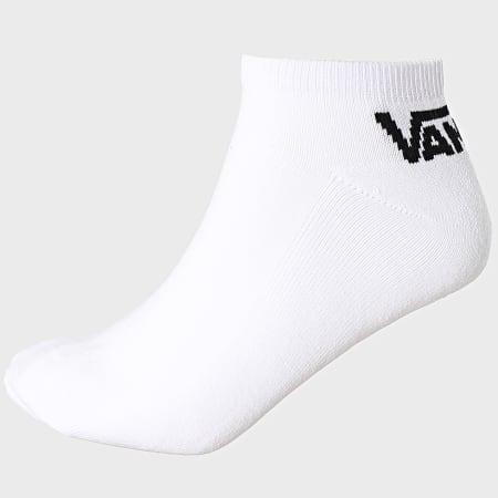 Vans - Lot De  3 Paires De Chaussettes XS8 Blanc