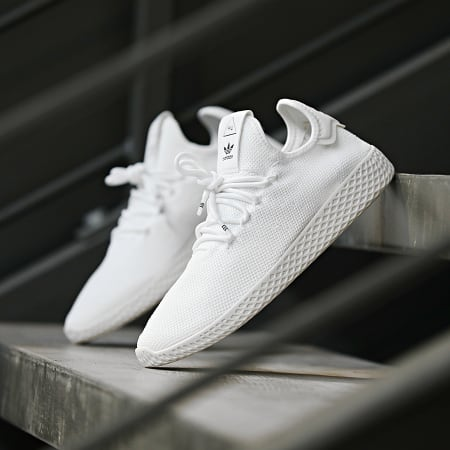 adidas - Baskets Pharrell Williams Tennis Hu B41792 Footwear White Cloud White