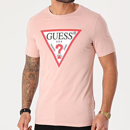 Guess - Tee Shirt M1RI71-I3Z11 Rose