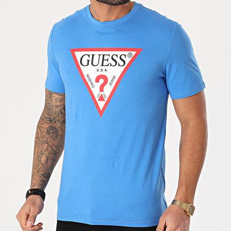Guess - Tee Shirt M1RI71-I3Z11 Bleu Clair