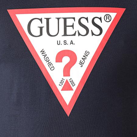 Guess - Tee Shirt M1RI71-I3Z11 Bleu Marine