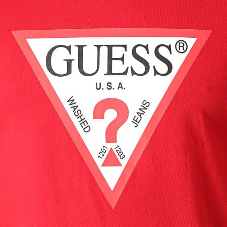 Guess - Tee Shirt M1RI71-I3Z11 Rouge