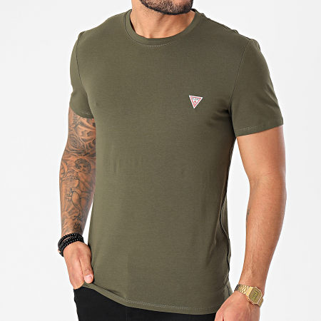 Guess - Tee Shirt M1RI24-J1311 Vert Kaki