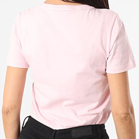 Guess - Tee Shirt Femme A Strass W1RI25-I3Z00 Rose