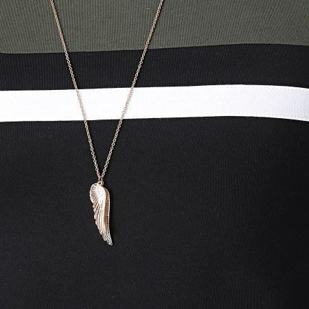 LBO - Tee Shirt Tricolore 1543 Kaki Blanc Noir