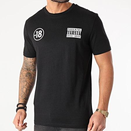 Parental Advisory - Tee Shirt Pegi 18 Noir