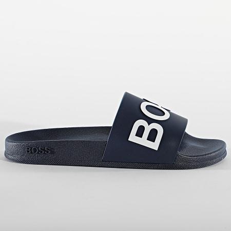 BOSS By Hugo Boss - Claquettes Bay Slide 50425152 Dark Blue