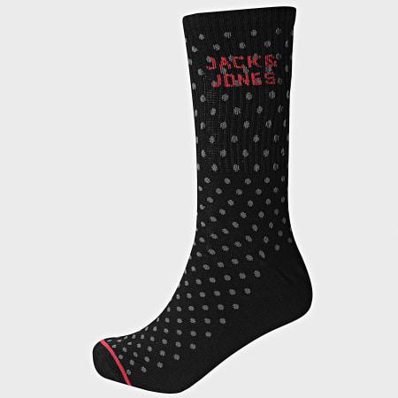 Jack And Jones - Lot De 5 Paires De Chaussettes 12185705 Noir Gris Anthracite Chiné