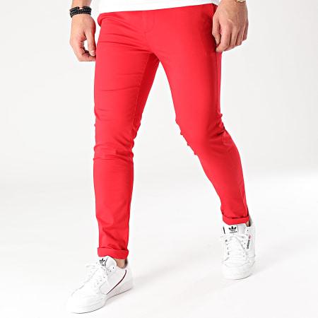 Mackten - Pantalon Chino MKP127 Rouge