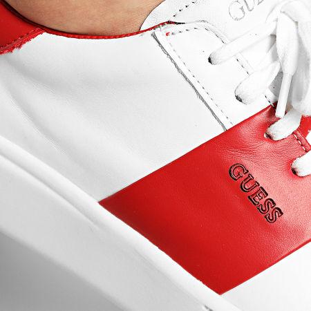 Guess - Baskets FM5VESLEA12 White Red