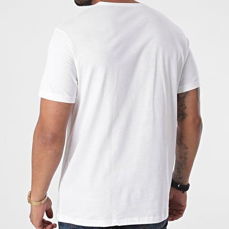 HUGO By Hugo Boss - Lot De 2 Tee Shirts Col V RN 50377779 Blanc