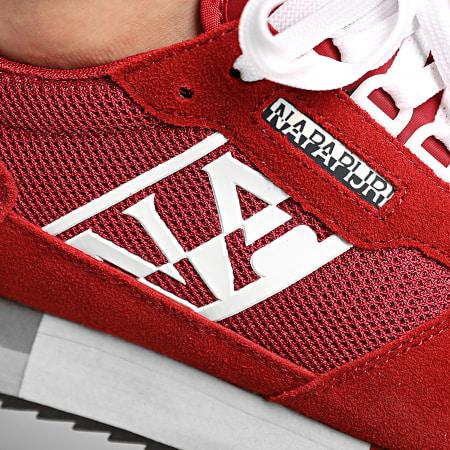 Napapijri - Baskets Virtus NA4ERY Cherry Red