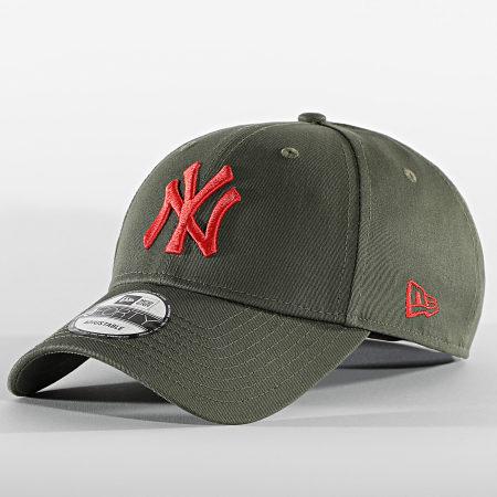 New Era - Casquette 9Forty League Essential 60112606 New York Yankees Vert Kaki