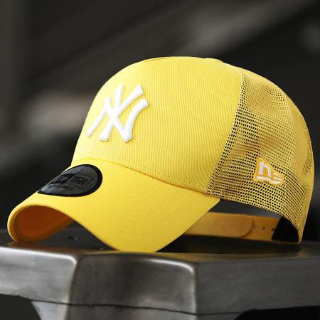 New Era - Casquette Trucker Tonal Mesh 60112706 New York Yankees Jaune