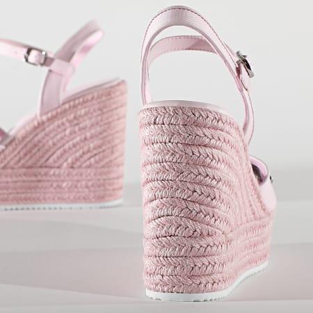 Calvin Klein - Sandades Femme Wedge 0121 Pearly Pink
