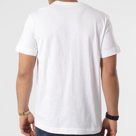 Calvin Klein Jeans - Tee Shirt Poche Monogram Badge 8088 Blanc