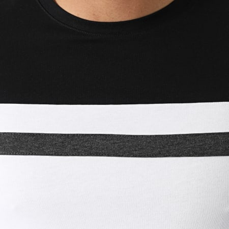 LBO - Ensemble Tee Shirt Et Short 1563 Noir Blanc