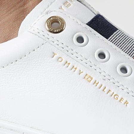Tommy Hilfiger - Baskets Femme Elastic Slip On 5546 White