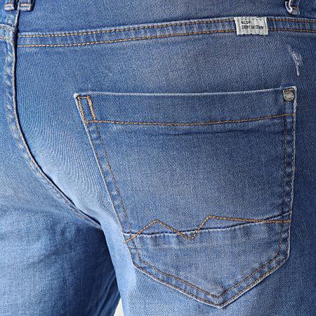 Blend - Short Jean 20711771 Bleu Denim