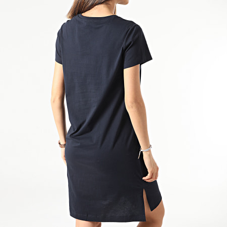 Champion - Tee Shirt Robe Femme 112609 Bleu Marine
