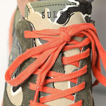 Guess - Baskets FM5RUNFAB12 Green