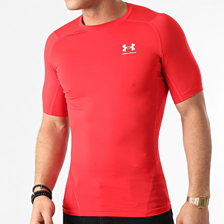 Under Armour - Tee Shirt Compression 1361518 Rouge