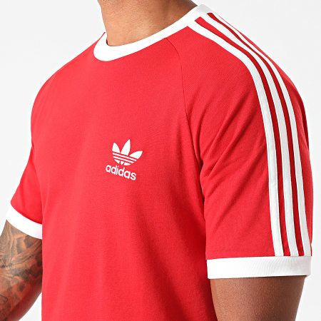 adidas - Tee Shirt A Bandes GN3502 Rouge