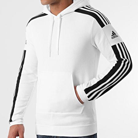 adidas - Sweat Capuche A Bandes GT6637 Blanc