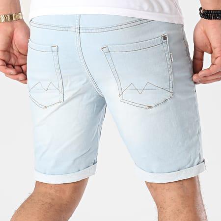 Blend - Short Jean 20711775 Bleu Wash