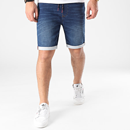 Blend - Short Jean 20711775 Bleu Denim